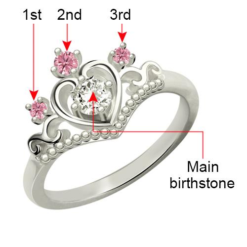 princess tiara ring