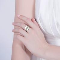 customed letter ring
