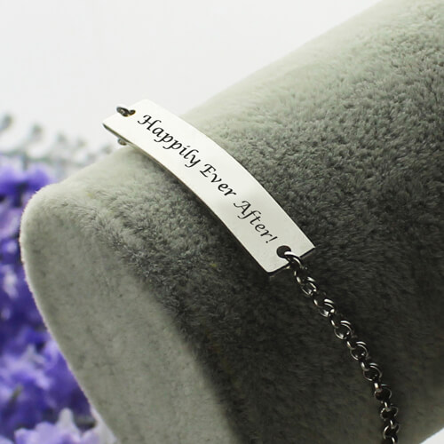 Name Bar Bracelet