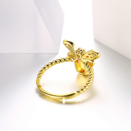 bee shape ring