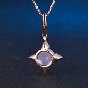 cross star pendant
