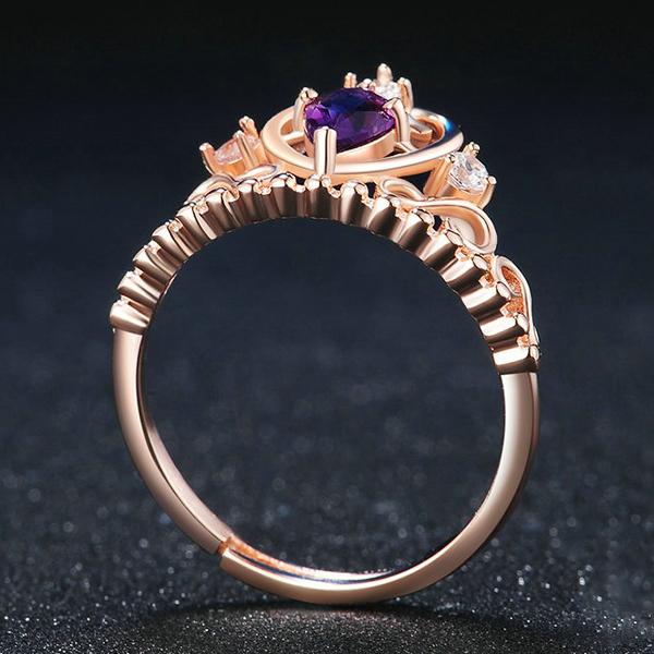 love crown anniversary ring