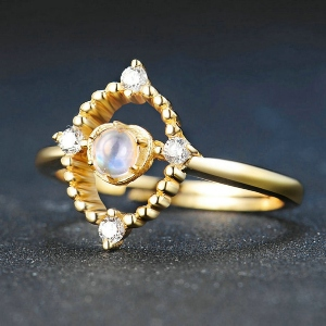 Moonstone Ring for wife