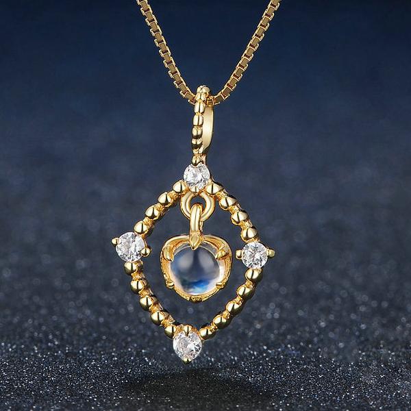 Blue Moonstone Jewelry