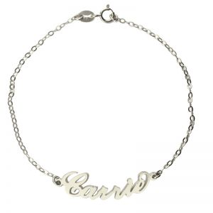 Personalized Carrie Name Bracelet