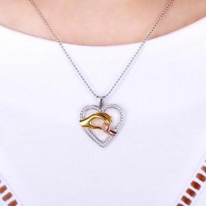 holding hand pendant