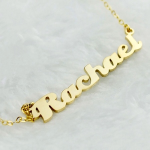 Personalized Name Necklace Stainless Steel